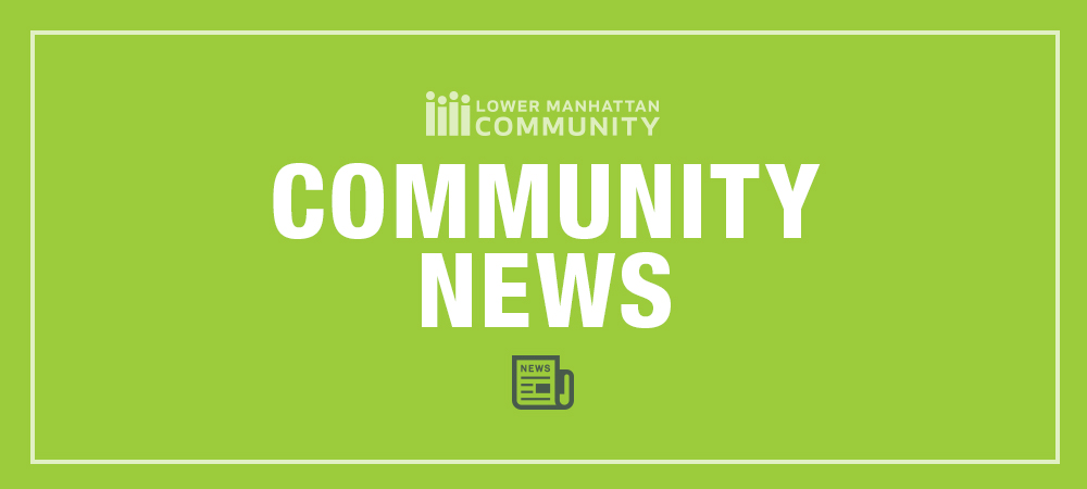 Community News Banner Lime Green