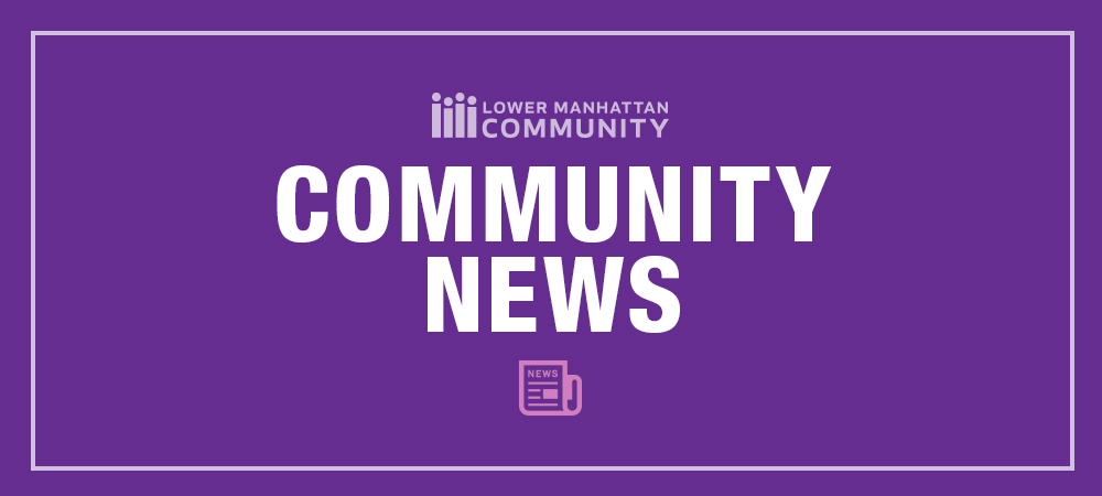 Community News Banner Purple