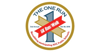 Logo for One Run 5k Run/Walk