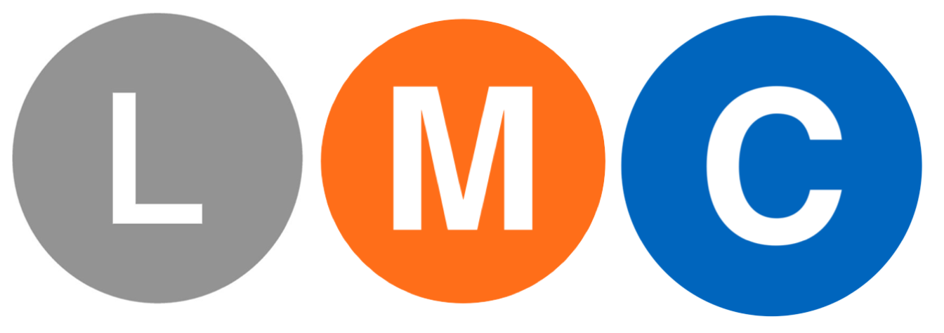 LMC Logo with subway designs
